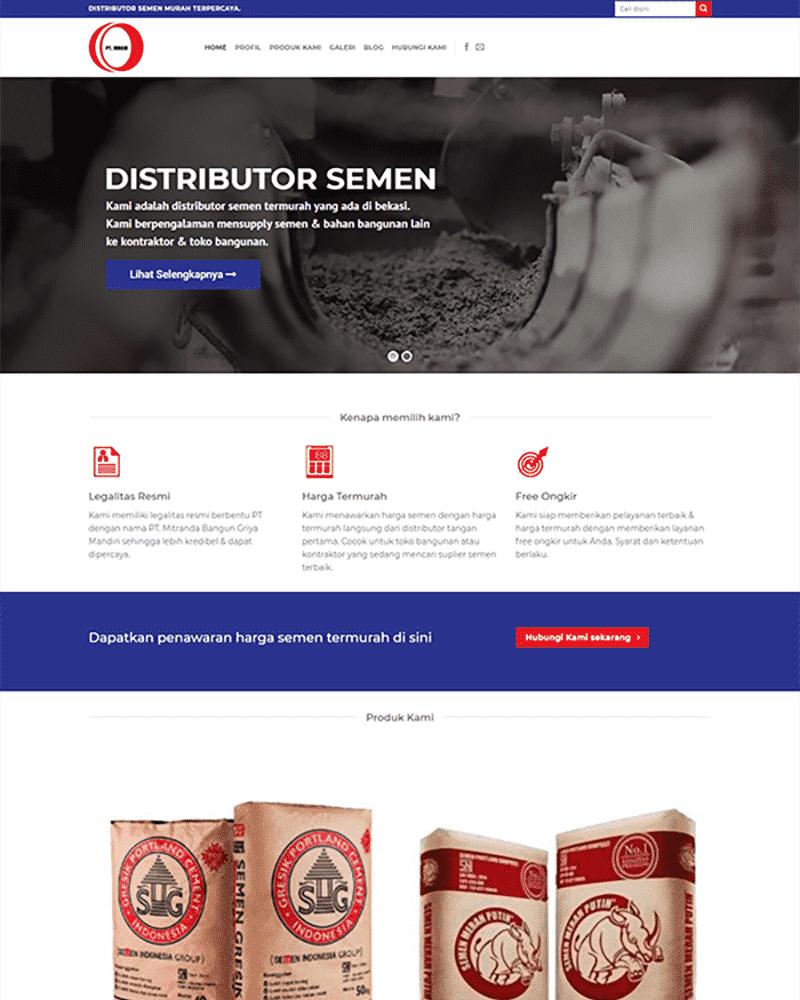 portofolio distributor semen
