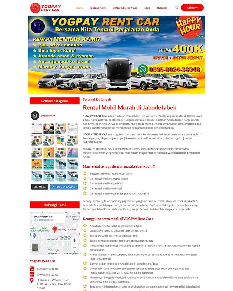 portofolio yogpayrentcar.com