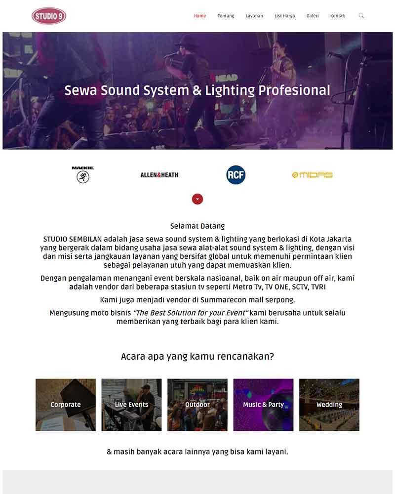 project sewasoundsystem.com