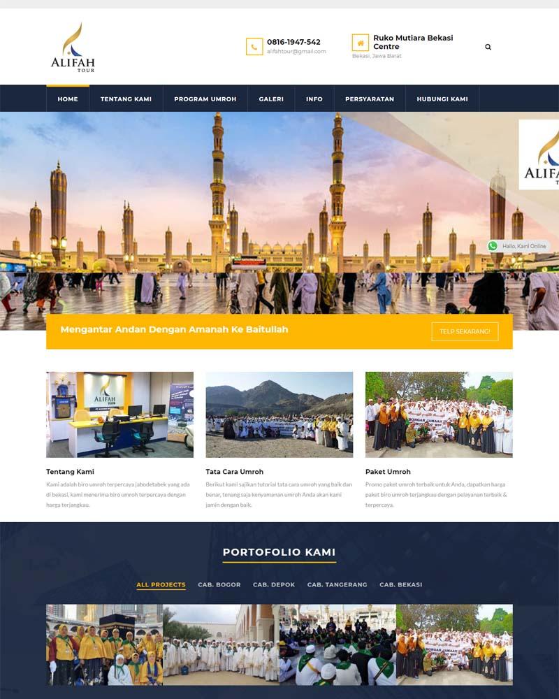 portofolio alifahnurindo.com