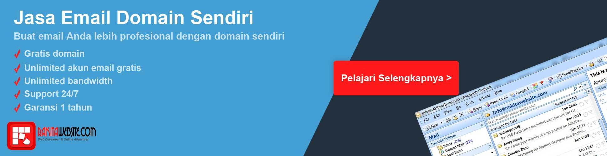 banner jasa email domain sendiri