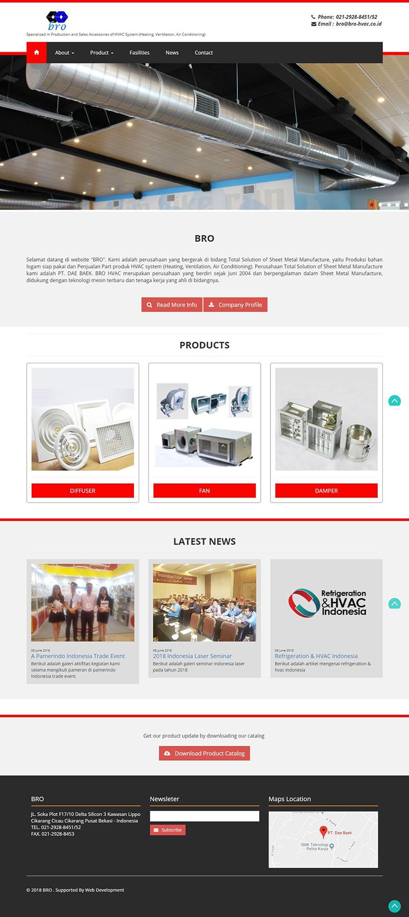 jasa pembuatan website perusahaan di cikarang